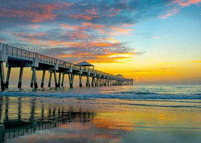 Sunrise at Juno Beach