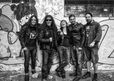Rob Rock and Leather Leone tour in S. America